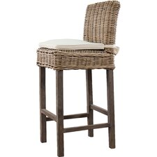 Sheila Indoor/Outdoor Rattan Barstool