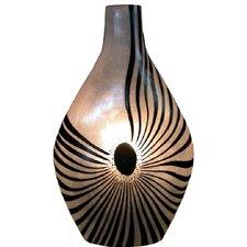Artistry Topaz One Light Vase Lamp in Natural 30'' H Table Lamp