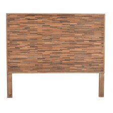 Maurice Queen Wood Headboard