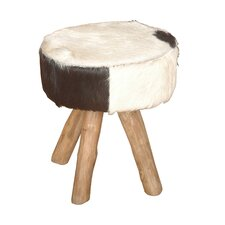 Safari Hide Accent Stool