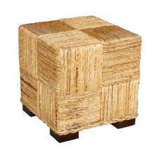 Marina Abaca Cube Ottoman