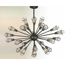 Conduit 24 Light Chandelier
