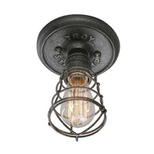 Conduit 1 Light Flush Mount