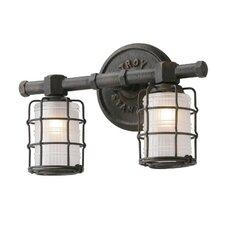 Mercantile 2 Light Vanity Light