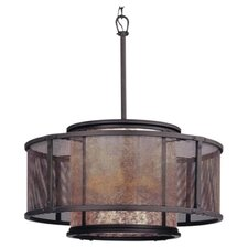 Copper Mountain 6 Light Pendant