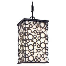 Aqua Exterior 1 Light Outdoor Hanging Lantern