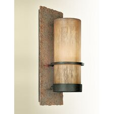 Bamboo 1 Light Outdoor Sconce