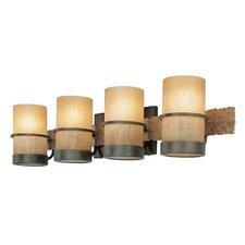 Bamboo 4 Light Vanity Light
