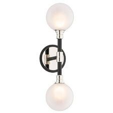 Andromeda 2 Light Wall Sconce