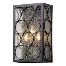 Bacchus 3 Light Outdoor Flush Mount