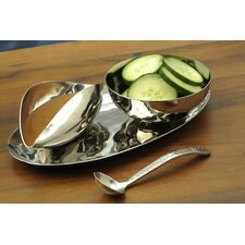 Silom 4 Piece Condiment Server Set