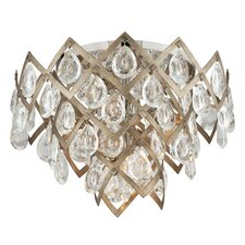 Tiara 3 Light Semi Flush Mount