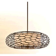 Cesto 8 Light Drum Pendant