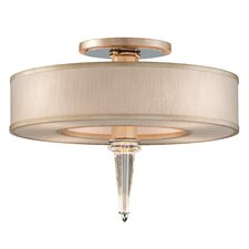 Harlow 8 Light Semi Flush Mount