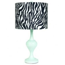 """Curvature 26"""" H Table Lamp with Drum Shade"""
