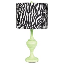 """Curvature 26.75"""" H Table Lamp with Drum Shade"""