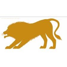 Seria della Natura Il Leone--Lion 1965 Silkscreen by Enzo Mari Graphic Art