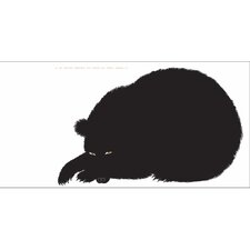 Seria della Natura L'Orso Bear 1965 Silkscreen by Enzo Mari Graphic Art