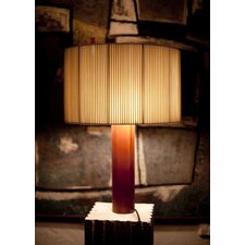 "Moragas 31.2"" H Table Lamp with Drum Shade"