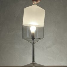 "Bonne Nuit 13.8"" H Table Lamp with Novelty Shade"