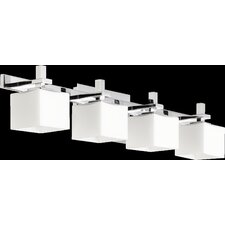 4 Light Square Vanity Light