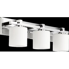 3 Light Cylinder Vanity Light