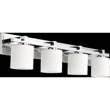 4 Light Cylinder Vanity Light