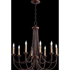Brooks 8 Light Candle Chandelier