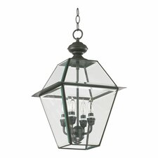 Duvall 4 Light Outdoor Hanging Lantern