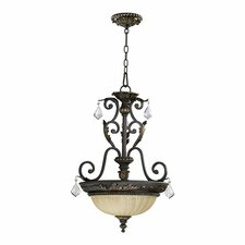 Rio Salado 3 Light Inverted Pendant