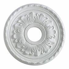 """17"""" Ceiling Medallion in Studio White"""