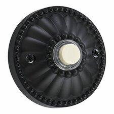 Elegant Round Door Chime Button in Old World