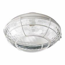 """Hudson 12.75"""" 1 Light Patio Ceiling Fan Light Kit"""