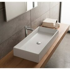 Teorema Ceramic Vessel Bathroom Sink