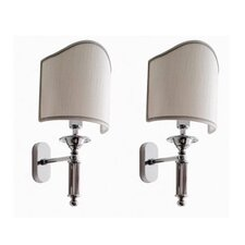 Antika Applique 1 Light Vanity Light (Set of 2)