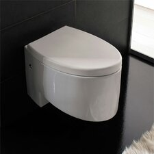 Zefiro Wall Mounted Elongated 1 Piece Toilet