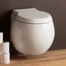 Planet Wall Mounted Round 1 Piece Toilet