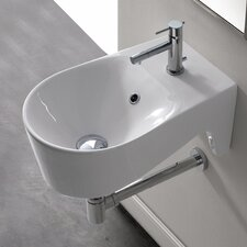 Bijoux U-Shaped Wall Mount Bathroom Sink