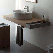 """Line 59"""" Single Wall Mounted Bathroom Vanity Set"""