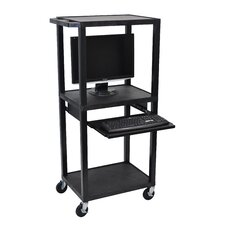 Tuffy Computer Workstation AV Cart