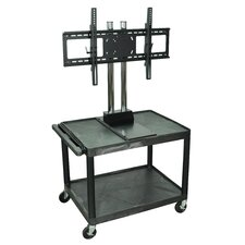 Tuffy Mobile Flat Panel AV Cart