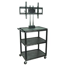 Mobile TV Mount AV Cart with Universal Mount