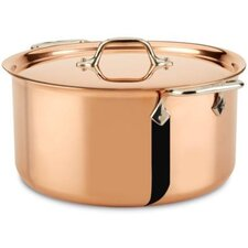 c2 Copper Clad 8 Qt. Stock pot with Lid