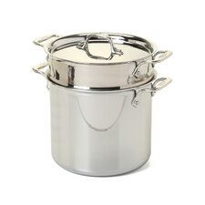 Stainless Steel 7 Qt. Multi-Pot
