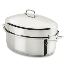 """18.5"""" Oval Covered Roaster"""