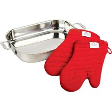 3 Piece Lasagna Pan Gift Set