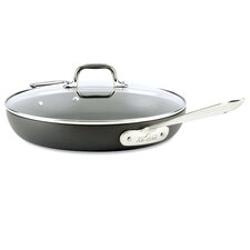 "12"" Non-Stick Frying Pan with Lid"