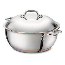 5.5-qt. Copper Round Dutch Oven