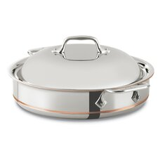 Copper Core 3-qt. Saute Pan with Lid
