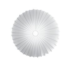 Muse Blanco 2 Light Ceiling Light (E26 Fluorescent)